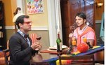 No mesmo ano, foi ao ar a novelaBalacobaco (Record TV), em que Léo Rosa interpretou Breno Pedrosa