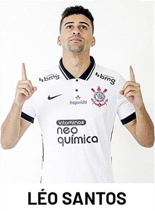 Léo Santos - 22 anos - Já jogou pelo Paulistão