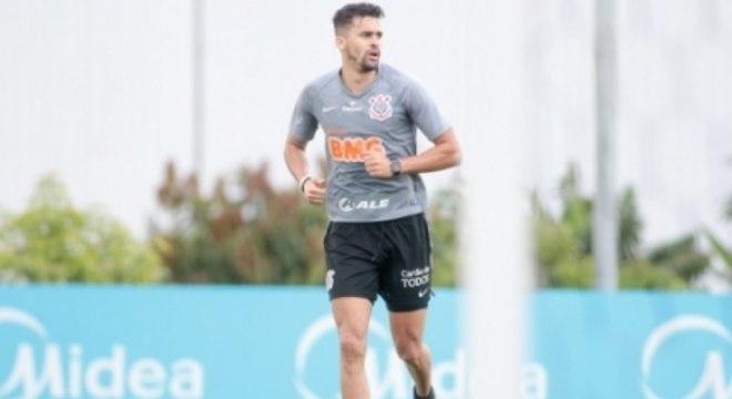 Léo Santos - Treino Corinthians