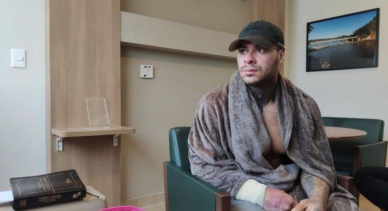 Leo Stronda reflete após acidente: 'Mais uma batalha sendo vencida'