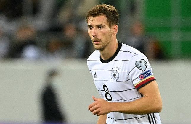 Leon Goretzka (26 anos) - Meio-campista do Bayern de Munique - Valor de mercado: 70 milhões de euros - Ainda em conversas pela renovação com o Bayern e o Real Madrid é um dos interessados em ter o jogador.