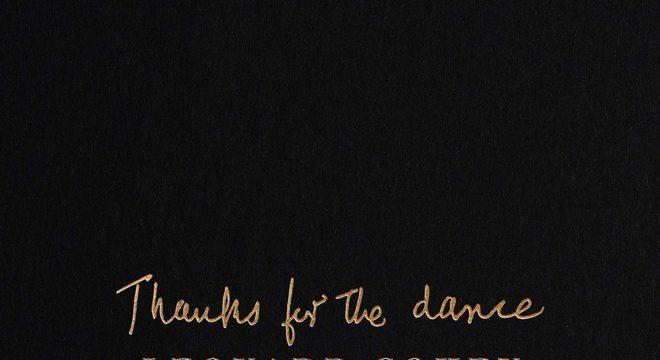 Disco póstumo de Leonard Cohen terá diversos convidados especiais