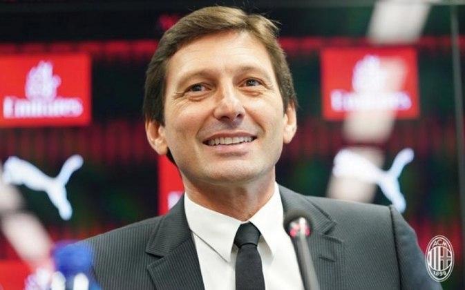 Leonardo - Além de ser parceiro de Raí na Fundação Gol de Letra, Leonardo segue no futebol. Após experiências como treinador e dirigente, atualmente é diretor no Milan(Foto: Reprodução / Twitter)