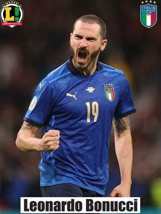 Leonardo Bonucci – 7,0 – Além de uma atuação consistente na defesa, o zagueiro foi o autor do gol de empate.  Converteu a cobrança de pênalti.