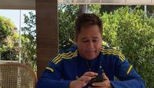 Leonardo usa blusa do Cruzeiro e torcida cobra: 'Compre o clube'
