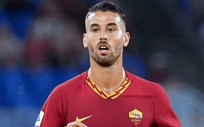 Leonardo Spinazzola, da Roma, é o lateral direito. Atuou em 22 partidas com a camisa do clube