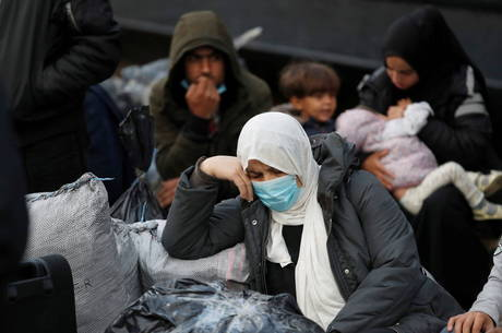 Campo de Lesbos registra 1º caso de covid-19