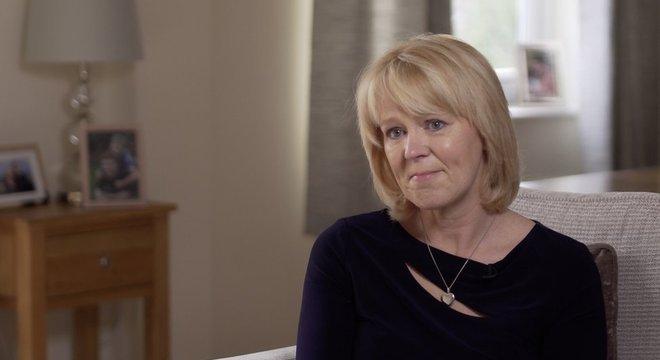 Lesley diz que Alex era 'empático, gentil, espirituoso e carinhoso'