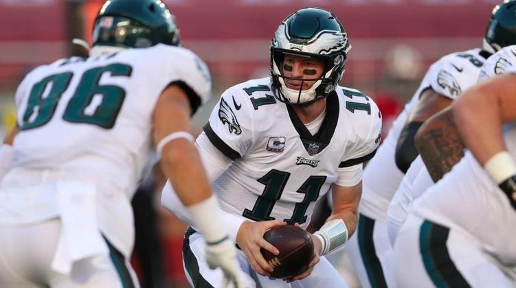 Lesões, ataque e defesa disfuncionais e um Carson Wentz em regressão, O Philadelphia Eagles tem problemas, muitos problemas.