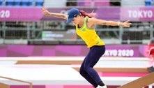 Skate: Fora da final, Letícia lamenta críticas após polêmica com Kelvin