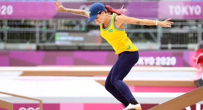 Letícia Bufoni não conseguiu brilhar e ficou sem medalha em Tóquio