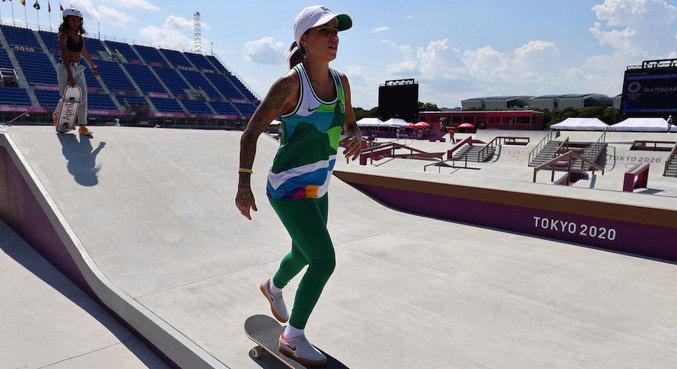 Letícia Bufoni é a mais experiente das três competidoras brasileiras em Tóquio