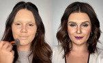 Nem a atriz Giovanna Antonelli escapou de se tornar mais um clone na mão da maquiadora