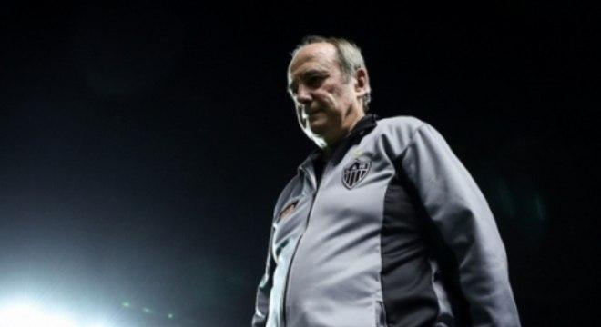 Levir Culpi lamenta a segunda derrota do Galo na Libertadores