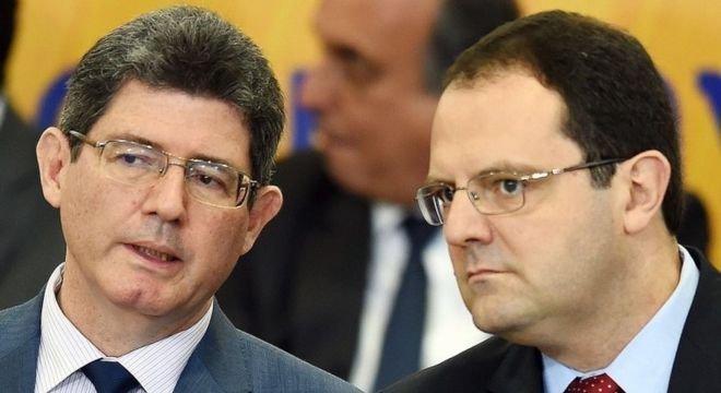 Levy (à esquerda) foi ministro da Fazenda de Dilma Rousseff