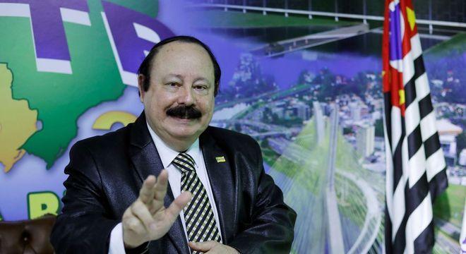 Levy Fidelix, candidato do PRTB à Prefeitura de São Paulo em 2020