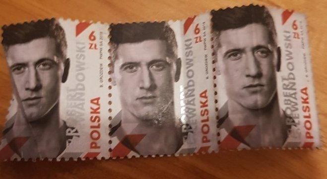 Polônia, até selos em honra do capitão-artilheiro