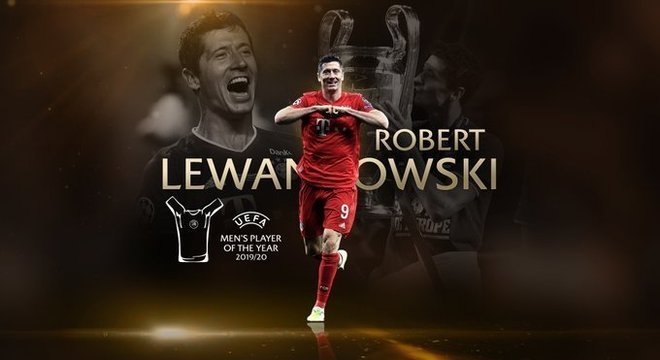 Justíssimo, Lewandowski escolhido o craque do ano pela UEFA