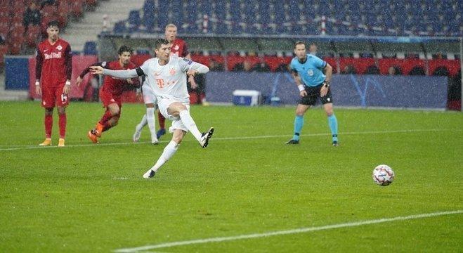 Bayern, Lewandowski, de penal