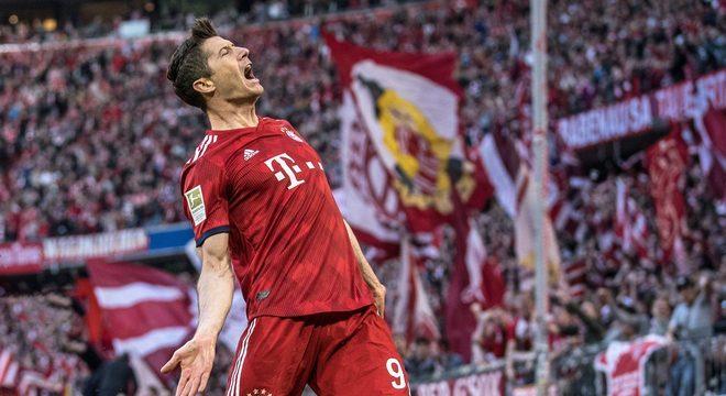 Lewandowski não quis ir três vezes para o Real. Cinco vezes artilheiro da Bundesliga