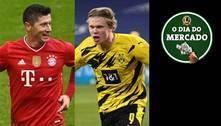 Lewa pensa em deixar Bayern, e City se aproxima de Haaland