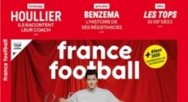 Lewandowski - Capa da France Football
