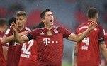 Na Alemanha, o Bayern de Munique venceu o Colônia no sufoco, por 3 a 2. Gnabry fez os dois primeiros para a equipe da Baviera e Lewandowski o terceiro. Modeste e Uth descontaram para o adversário