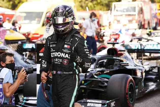 Lewis Hamilton conquistou a 92ª pole position na Fórmula 1