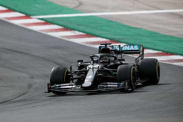 Lewis Hamilton conquistou mais uma vitória em 2020, ampliando a liderança do campeonato