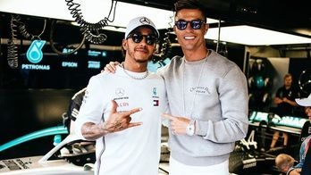 Mais parças que Neymar? Conheça amigos famosos de Lewis Hamilton (Reprodução/Instagram)