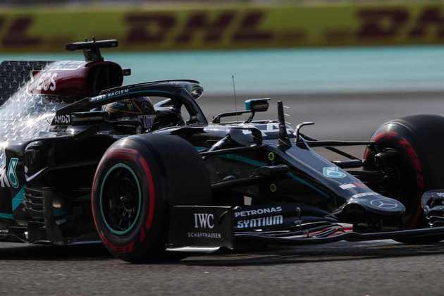Lewis Hamilton é o maior vencedor do GP de Abu Dhabi.