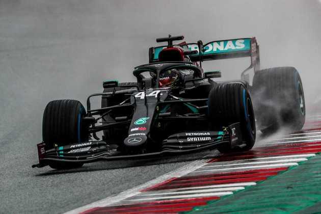 Lewis Hamilton ficou com o coração na boca na classificação no Red Bull Ring