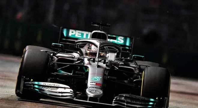 Lewis Hamilton é o atual campeão mundial de Fórmula 1