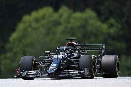 Hamilton sobrou no circuito de Spielberg