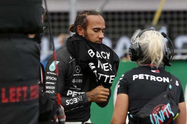 Lewis Hamilton, porém, achou o protesto desorganizado e reclamou com a F1