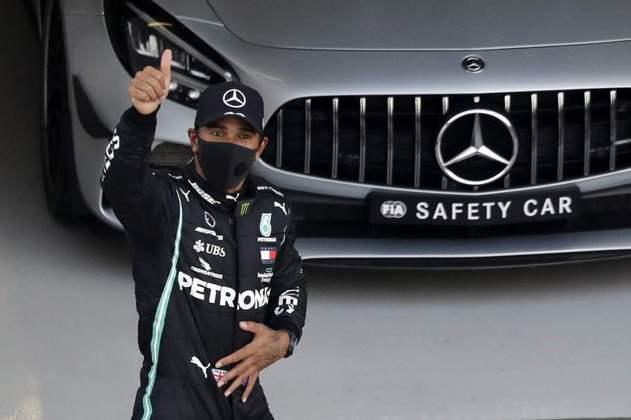 Lewis Hamilton, sempre ele, conquistou mais uma pole position no ano