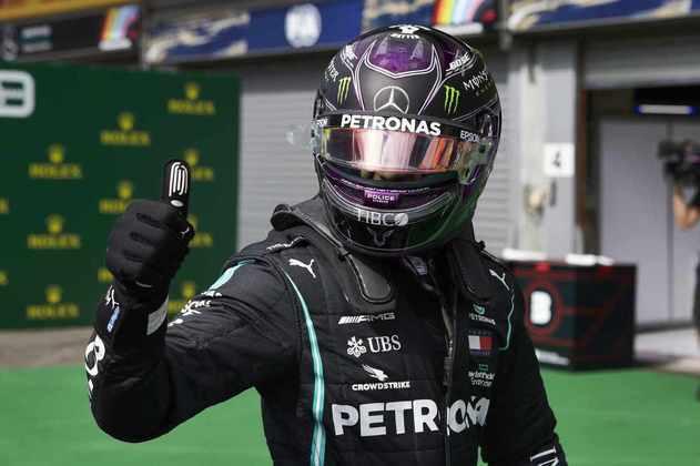 Lewis Hamilton sobrou no sábado em Spa (Foto: Mercedes)