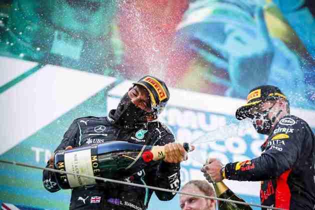 Lewis Hamilton venceu a 88ª corrida na Fórmula 1