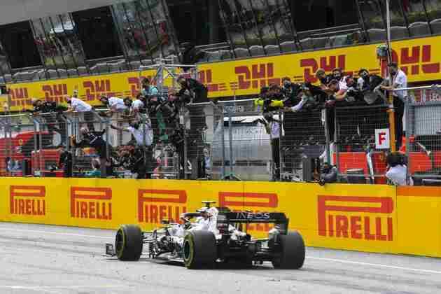 Lewis Hamilton venceu com facilidade o GP da Estíria