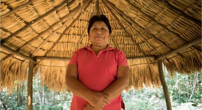 Leydy Pech diz que os indígenas estão ameaçados no México