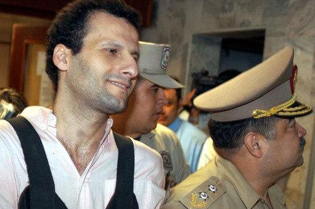 Barakat quando foi preso no Paraguai