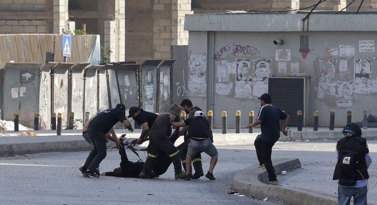 Governo do Líbano confirmou a morte de seis pessoas e mais de 30 feridos