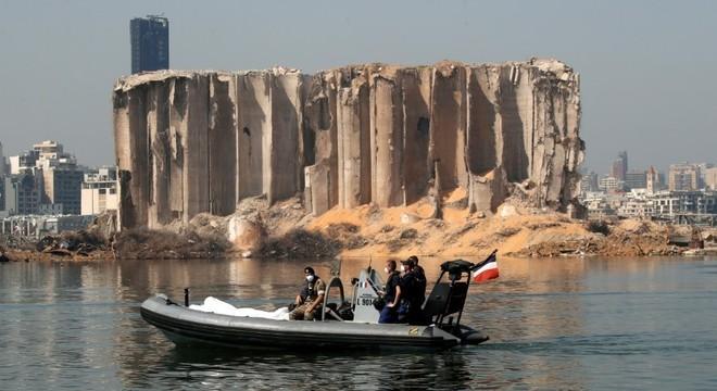 Nitrato de amônia explodiu no porto de Beirute, no Líbano, em agosto deste ano