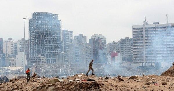 Líbano prende 16 em investigação sobre explosão em Beirute