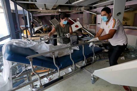 Explosão no Líbano sobrecarregou hospitais