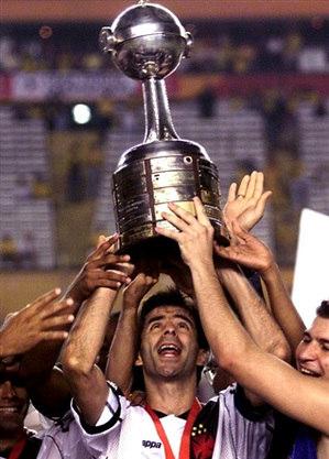 A Libertadores é o seu maior troféu