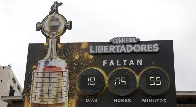 Santiago contava os dias para a final entre Flamengo e River Plate-ARG