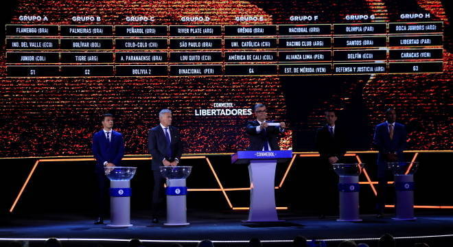 Palmeiras pode encarar o Corinthians na fase de grupos da Libertadores