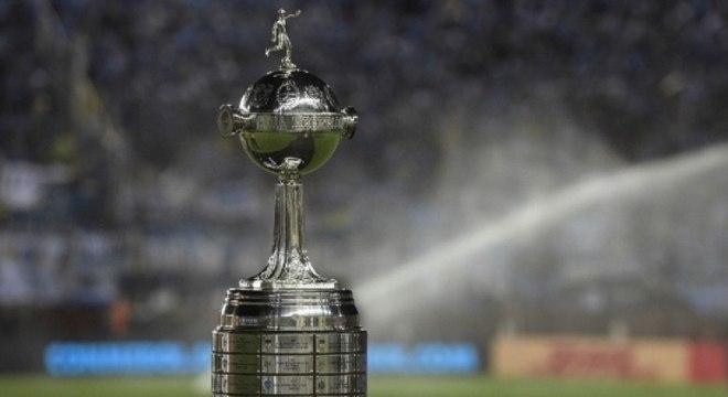 A taça da Libertadores