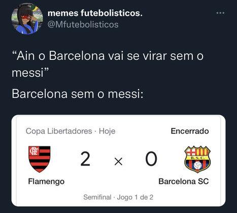 Libertadores da América: após 2 a 0 sobre o Barcelona de Guayaquil, rubro-negros festejam resultado nas redes sociais